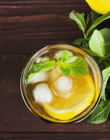 mint tea punch listing
