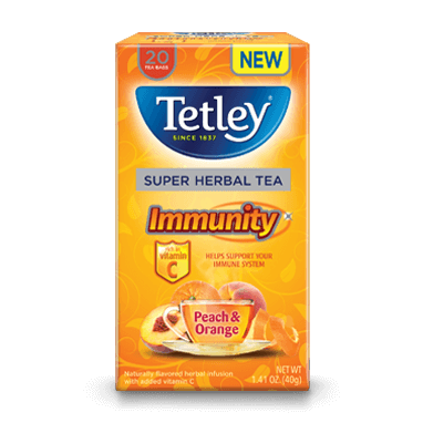 Immunity Peach & Orange Tea